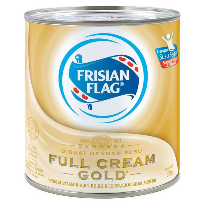 Frisian Flag Susu Kental Manis Gold Can 370gr Pcs