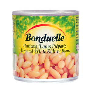 Bonduelle White Bean Natural 400gr 1 Ctn (Isi 12 Pack)