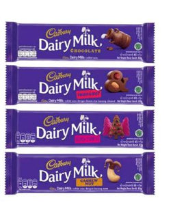 Cadbury All Varian 65gr 1 Ctn (Isi 144 pcs)