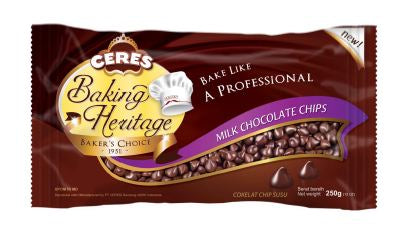 Ceres Baking Heritage Milk 250gr 1 Ctn (Isi 24 pcs)