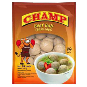 Champ Saus Beef Ball 200gr 1 Ctn (Isi 25 pack)
