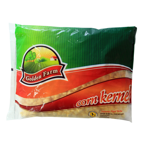 Golden Farm Corn Kernel 1 Kg 1 Ctn (Isi 12 pcs)