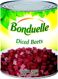 Bonduelle Diced Red Beetroots 400gr