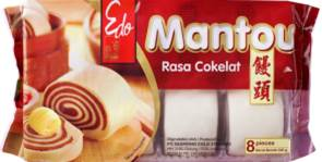 Edo Mantou Chocolate 320 gr