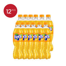Fanta Orange Pet 390ml 1 Ctn (Isi 12 pcs)