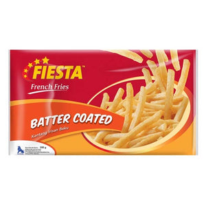 Fiesta French Fries Batter Coated 500 Gr