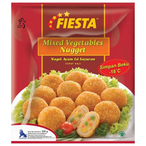 Fiesta Mixed Vegetables Nugget 500gr 1 Ctn (Isi 10 pack)