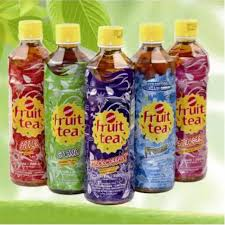 Fruit Tea Sosro Pet 500ml 1 Ctn (Isi 12 pcs)