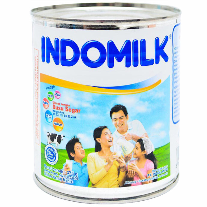 Indomilk Susu Kental Manis Plain 375 GR