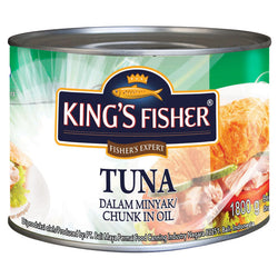King Fisher Tuna In Oil 1.8 KG
