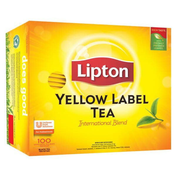 Lipton Yellow Envelope 100 X 2 G