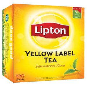 Lipton Yellow Non Envelope 100 X 2 G