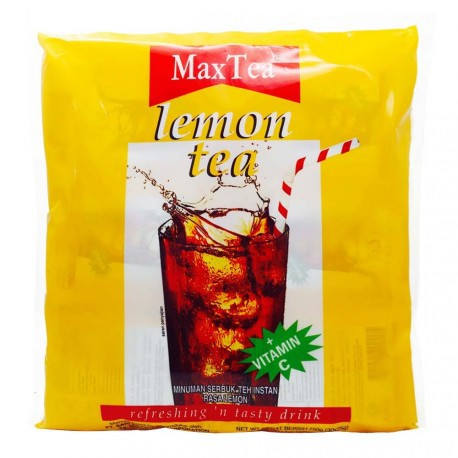 Maxtea Lemon Tea Perforated 1 Ctn (Isi 360 pcs)