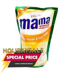 Mama Lemon Aroma Lemon Pouch 800ML 1 Ctn (Isi 12 pcs)