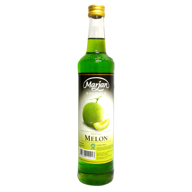 Marjan Syrup Melon 460 ML 1 Ctn (Isi 12 pcs)