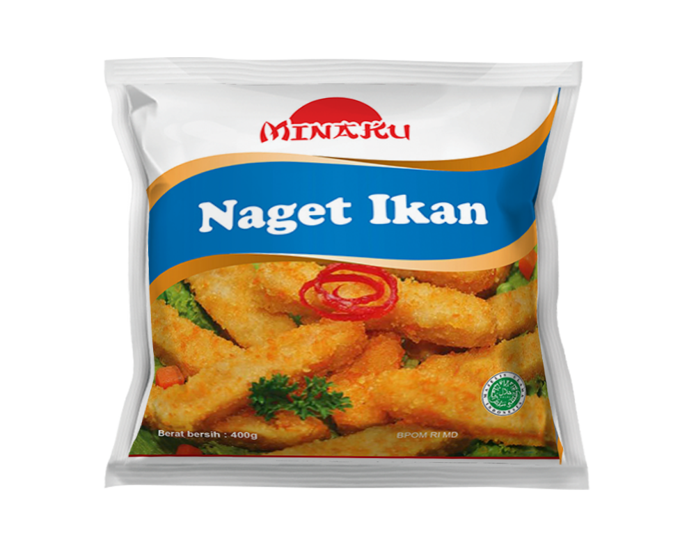 Nugget Ikan 400gr 1 Ctn (Isi 25 pack)
