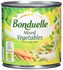 Bonduelle Mix Vegetable French Style 200gr 1 Ctn (Isi 24 Pack)
