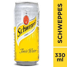 Schweppes Tonic Water 330ml 1 Ctn (isi 24 Pcs)