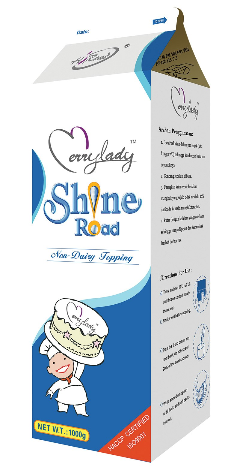 Shineroad NON-DAIRY CREAM TOPPING 1 kg