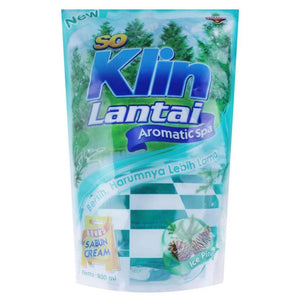 So Klin Lantai Hijau Pouch 800ml