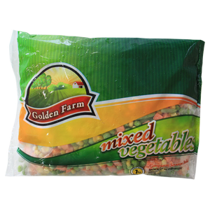 Golden Farm Mixed Vegetables 1kg 1 Ctn (isi 12 Pack)