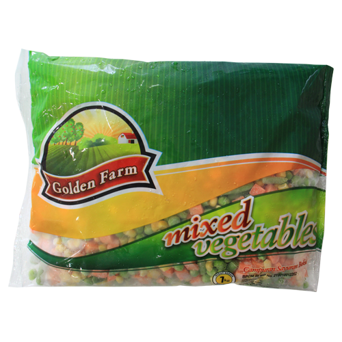 Golden Farm Mixed Vegetables 1 Kg 1 Ctn (Isi 12 pack)