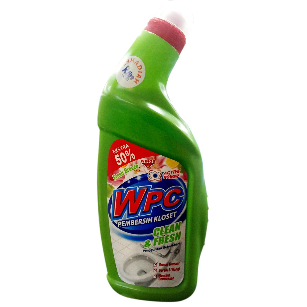 WPC Toilet Cleaner Fresh Breeze Botol 600 ml