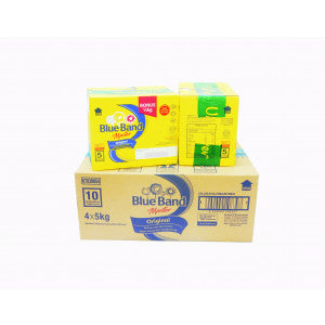 Blue Band Master Original Margarine 5 KG (Isi 4 Pcs)