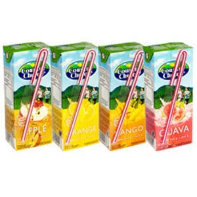 Country Choice Apple 250ml 1 Ctn (Isi 24 pcs)
