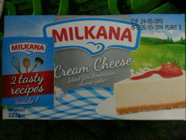 MILKANA  Milkana US Cream Cheese 227 gr