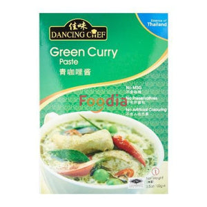 Dancing Chef Thai Green Curry Paste 100 Gr Mie & Pasta