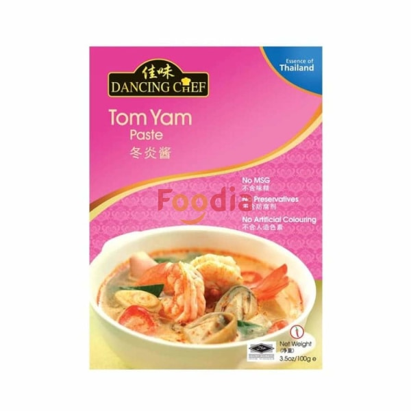 Dancing Chef Tom Yam Paste 100 Gr Mie & Pasta
