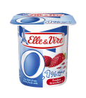 Elle & Vire Dessert Lacte Light 0% Strawberry 125 gr