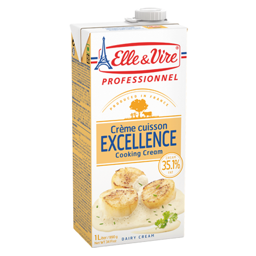 Elle & Vire Cream Special Cooking 35.1% Fat 1 lt