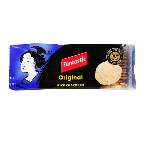 Fantastic	Rice Cracker Original 100 gr