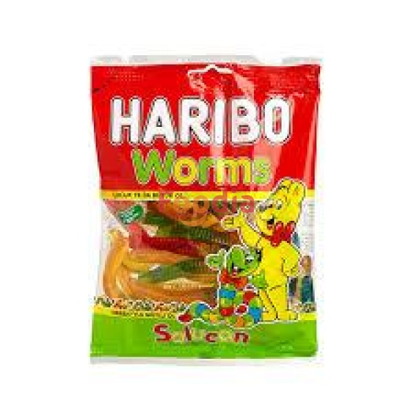Haribo Worms 80 Gr Permen