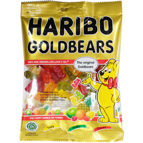 Haribo Gold Bears 160 gr