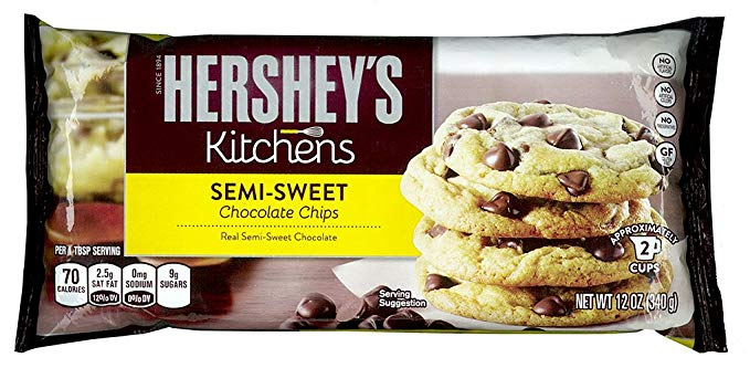Hershey'S Semi - Sweet Chocolate Chip 340 gr