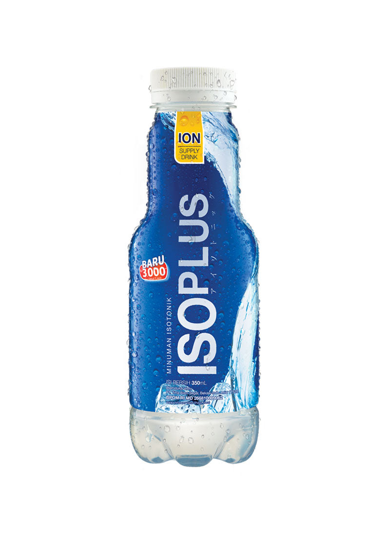 Iso Plus Plus RTD Botol 350ml 1 Ctn (Isi 12 pcs)