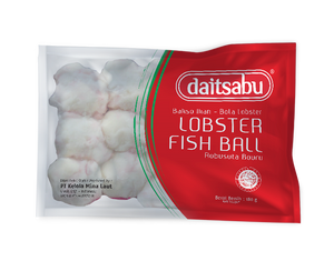 Daitsabu Lobster Fish Ball 180gr 1 Ctn (Isi 33 pcs)