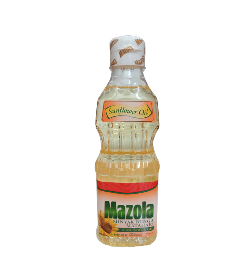 Mazola Sunflower Oil 450 ml