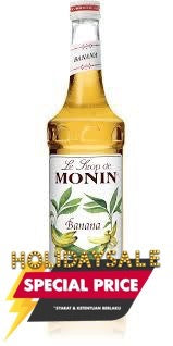 Monin Sirup Yellow Banana 70 cl