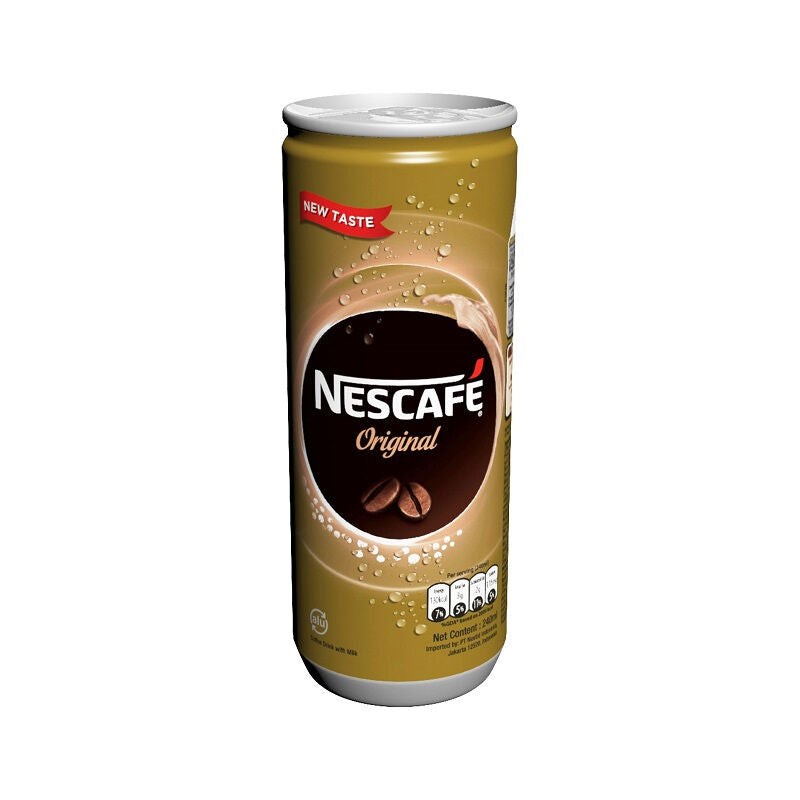 NESCAFE Original Can 240ml 1 Ctn (Isi 24 pcs)