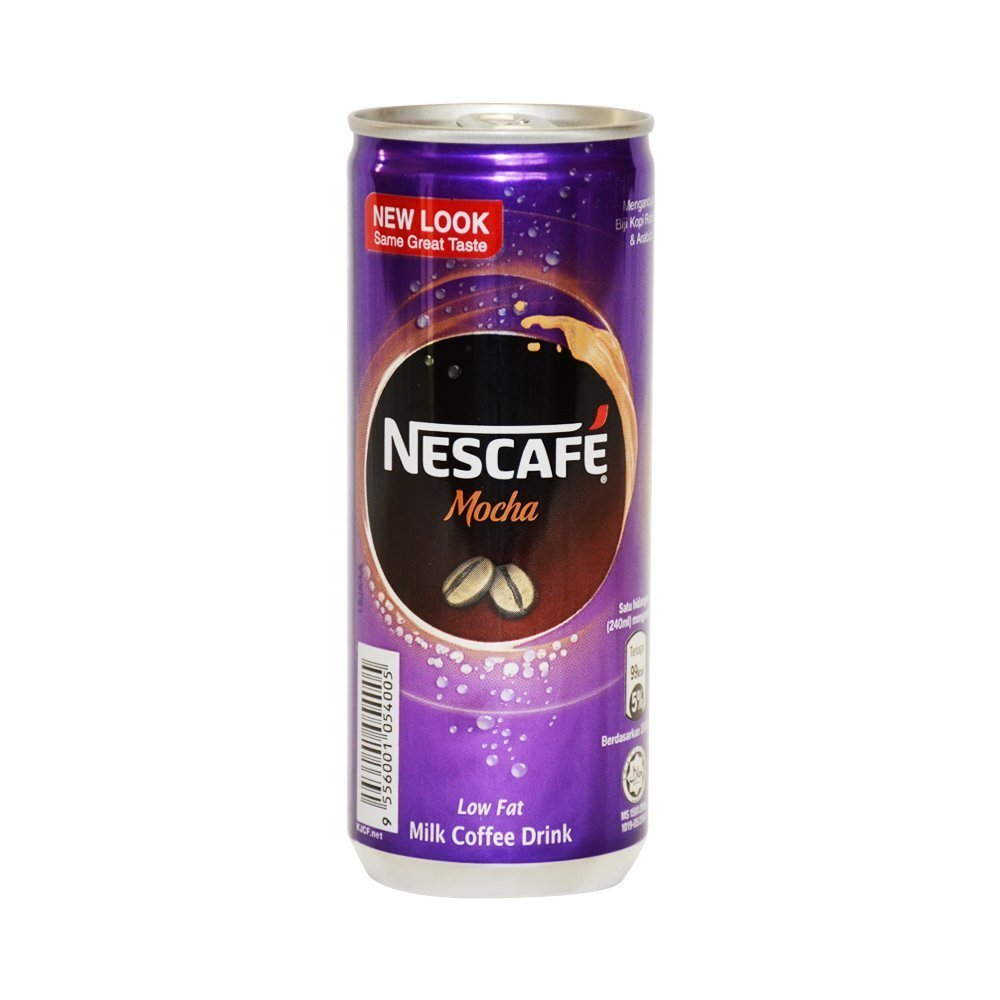 NESCAFE Mocha Can 240ml 1 Ctn (Isi 24 pcs)