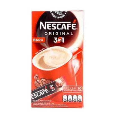 NEscafe 3in1 Original SIB 17.5g 1 Ctn (Isi 60 pcs)