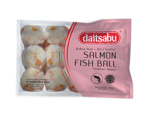 Daitsabu Salmon Fish Ball 180gr 1 Ctn (Isi 33 pack)