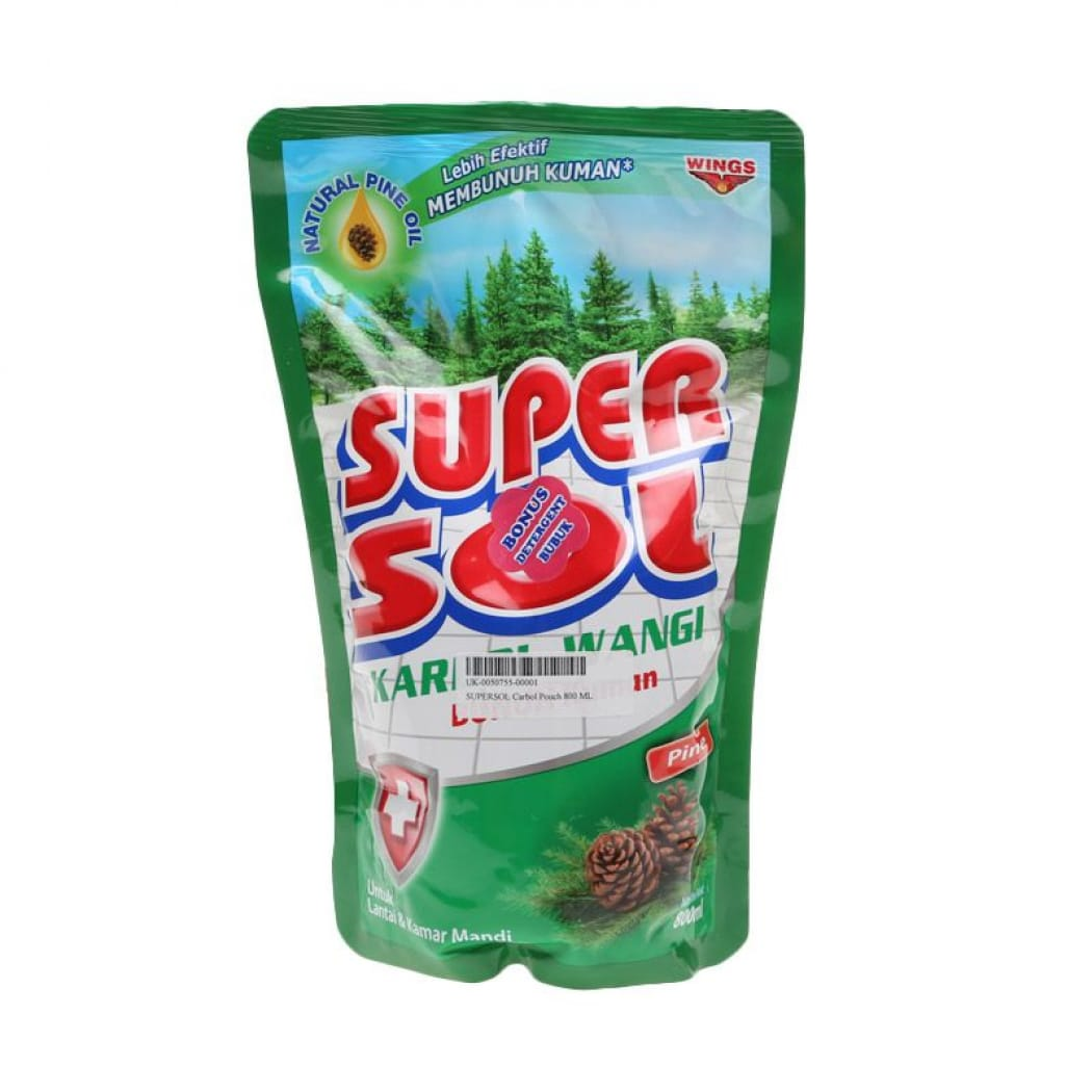 SUPERSOL Supersol Carbol Pouch 1.8L