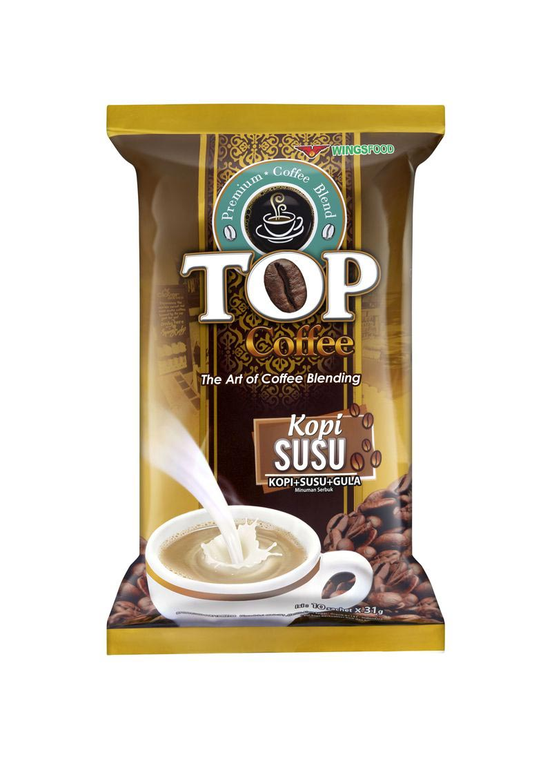TOP KOPI	Top Kopi Susu (3in1) 6bag x 20 x 31gr