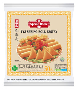 Tyj Os Spring Roll Skin Pastry 6 50#pk* 400 Gr Tepung