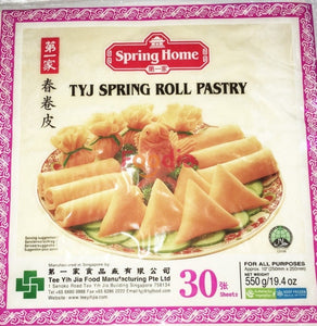 Tyj	Os Spring Roll Skin Pastry 10 30#pk* 550 Gr Tepung